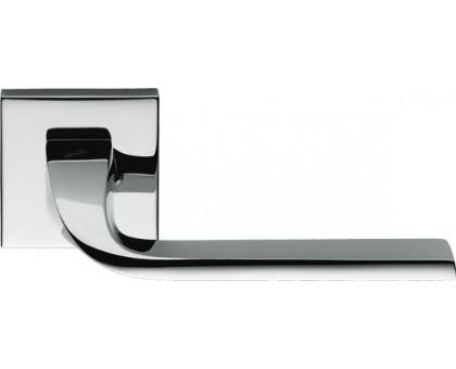Дверная ручка Colombo Isy BL11 RSB на квадратной розетке (полированный хром)