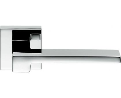Дверная ручка Colombo Zelda MM11 RSB на квадратной розетке (полированный хром)