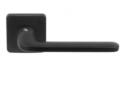 Дверная ручка Colombo Roboquattro S ID51 RSB-NM на квадратной розетке (матовый черный)