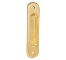 Ручка для раздвижных дверей Colombo CD211 латунь матовая (1 шт.)