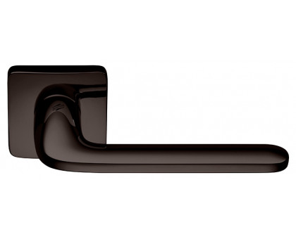 Дверная ручка Colombo Roboquattro S ID51 RSB-GL на квадратной розетке (графит)