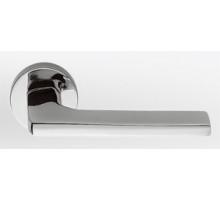 Дверная ручка Colombo Gira JM11 RSB на розетке (полированный хром)