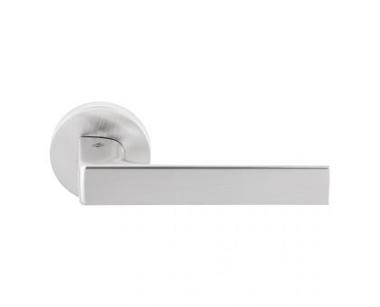 Дверная ручка Colombo Robocinque ID61 RSB-CM на круглой розетке (матовый хром)