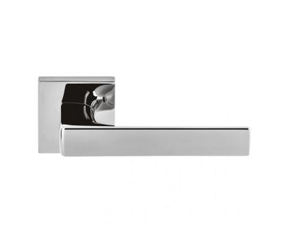 Дверная ручка Colombo Robocinque S ID71 RSB на квадратной розетке (полированный хром)