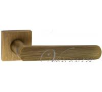 Дверная ручка Fratelli Cattini NEVADA 8-BY на квадратной розетке матовая бронза
