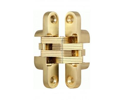 Петля дверная скрытой установки Fuaro с доводчиком Interno Basic F542 SG матовое золото без регулировки