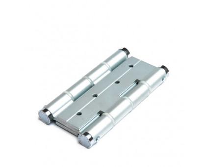 Петля дверная пружинная Justor DA120 5414.01 серебро (матовый хром) 120мм
