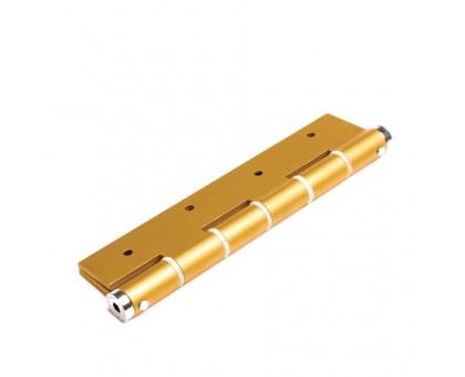 Петля дверная пружинная Justor SA180 5814.02 золото 180мм