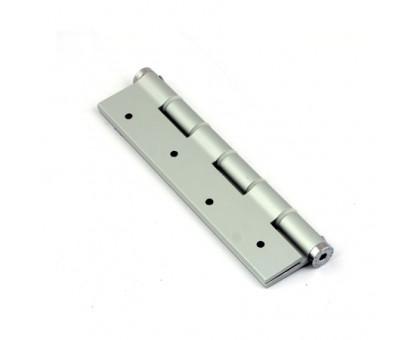 Петля дверная пружинная Justor SA180 5814.01 серебро (мат. хром) одинарная 180мм