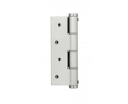 Петля дверная пружинная Justor SA180 5314.01 серебро одинарная 120мм