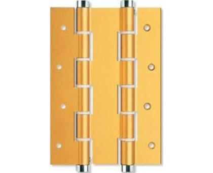 Петля дверная пружинная Justor DA180A 5934.02 золото 180мм