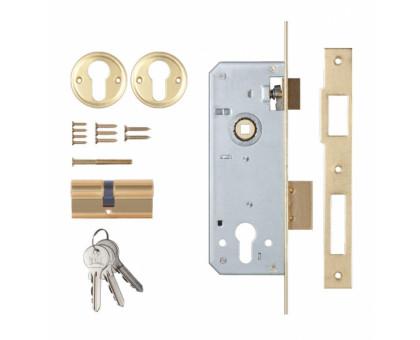 Замок врезной Kale Kilit 152/R 40 с цил 68мм ключ/ключ