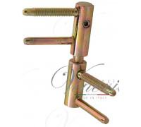 Петля дверная ввертная LaFlorida 182RRAN.01 с регулировкой 3D-20 бихром