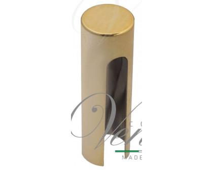 Колпачок плоский LaFlorida 485RSPL.01 для ввертных петель 20мм полиров. латунь 1 шт.