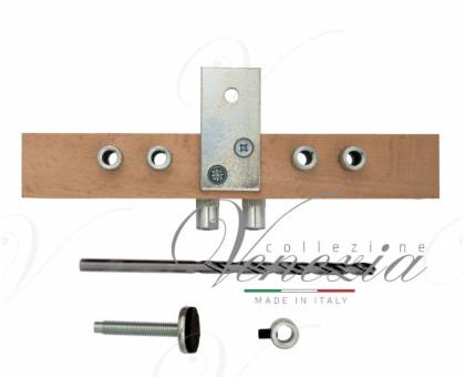 Шаблон LaFlorida 4CA87REG20.01 для установки ввертных регулируемых петель  диаметром 20мм для дверей с притвором