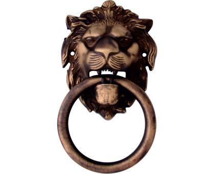 Дверная ручка гонг Melodia Leone 190x110 бронза матовая