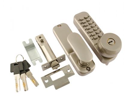 Кодовый замок Нора-М 370 с цилиндром и фиксатором