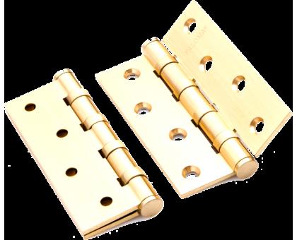 Петля дверная Paloma 100*70*3-4BB FH PB золото, универсальная