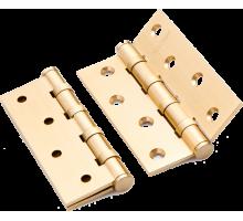 Петля дверная Paloma 100*70*3-4BB FH SB золото матовое, универсальная