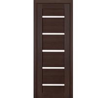 Дверь межкомнатная Profil Doors 7Х ст. белый триплекс цвет венге мелинга