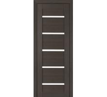 Дверь межкомнатная Profil Doors 7Х ст. белый триплекс цвет грей мелинга