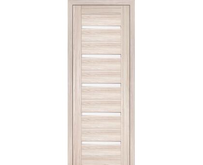 Дверь межкомнатная Profil Doors 7Х ст. белый триплекс цвет капуччино мелинга