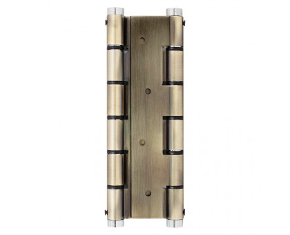 Петля дверная пружинная Protect бронза 180мм