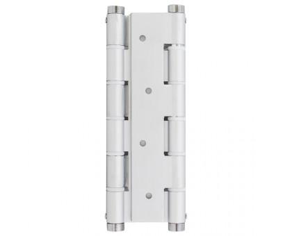 Петля дверная пружинная Protect серебро (хром) 180мм