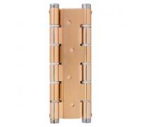 Петля дверная пружинная Protect золото 180мм