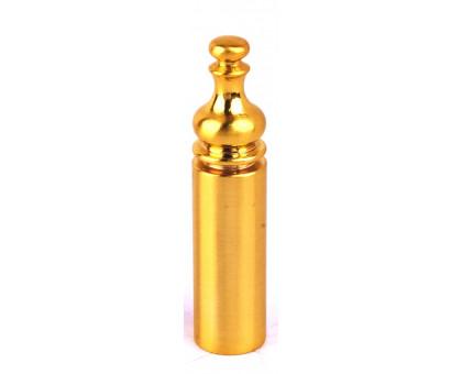 Колпачок с пешкой Protect D14 для ввертных петель 14мм золото 1 шт.