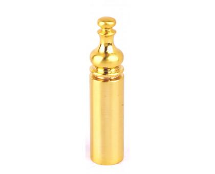 Колпачок с пешкой Protect D14 для ввертных петель 14мм матовое золото 1 шт.