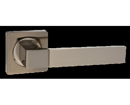 Дверная ручка Puerto AL 521-02 BN/SN черный никель/матовый никель