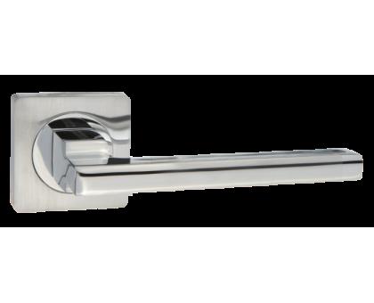 Дверная ручка Puerto AL 514-02 SC/CP матовый хром/хром блестю