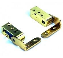 Дверная петля пяточная SFS CAB-R 3D цв. золото 2 шт. в компл.