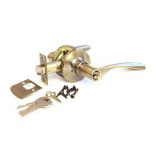 Дверная ручка-защелка Сириус 200-00 AB бронза ключ/фиксатор