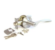 Дверная ручка-защелка Сириус 200-00 SN матовый хром ключ/фиксатор
