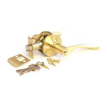 Дверная ручка-защелка Сириус 200-00 SB матовое золото ключ/фиксатор