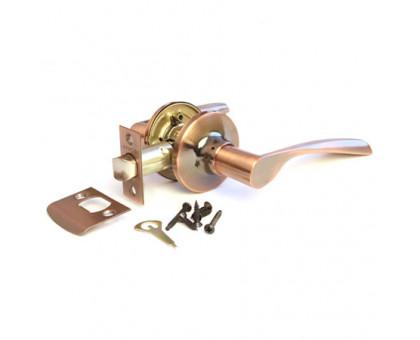 Дверная ручка-защелка Сириус 200-05 AC медь проходная