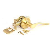 Дверная ручка-защелка Сириус 200-05 SB матовое золото проходная