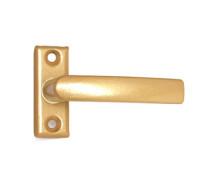 Завертка оконная Трибатрон золотой металлик