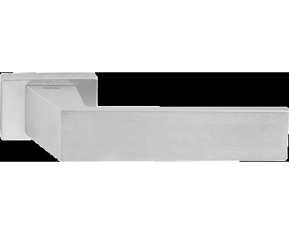 Дверная ручка Tupai Novinka 3033 RE матовый хром 96