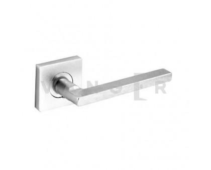 Дверная ручка Vanger H-1750-A-P-CRS матовый алюминий