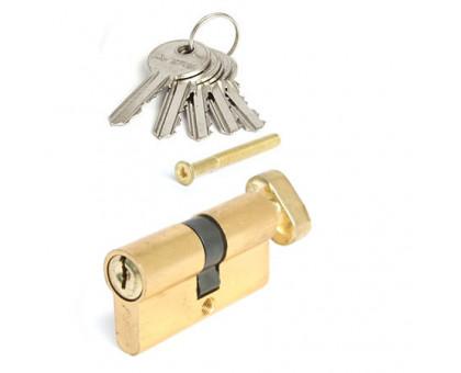 Цилиндровый механизм Vanger EL-60-C-G золото ключ/верт.