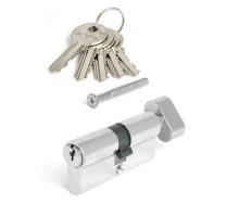 Цилиндровый механизм Vanger EL-70-C-NI никель ключ/верт.