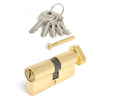 Цилиндровый механизм Vanger EL-70-C-G золото ключ/верт.