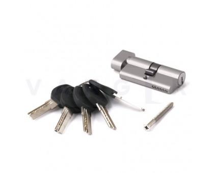 Цилиндровый механизм Vanger HM-60-C-CR хром ключ/верт., с перфорацией