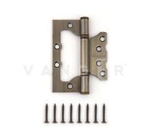Петля дверная без врезки Vanger 100мм бронза 100*75*2,5-P2-AB