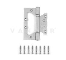 Петля дверная без врезки Vanger 100мм матовый никель 100*75*2,5-P2-NIS