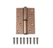 Петля дверная съемная Vanger 100мм медь 100*70*2,5-P-AC-L левая