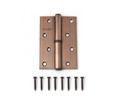 Петля дверная съемная Vanger 100мм медь 100*70*2,5-P-AC-R правая